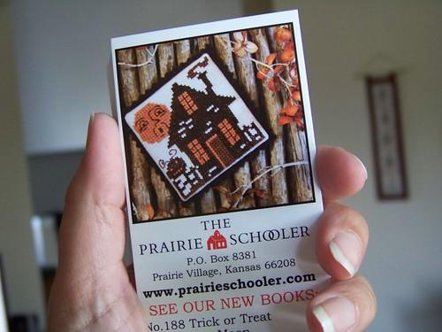 New Prairie Schoolers! (1/2)
