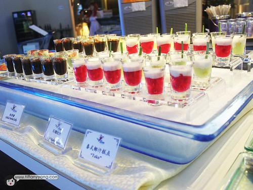 Seafood International Assorted Dessert Shooter Buffet