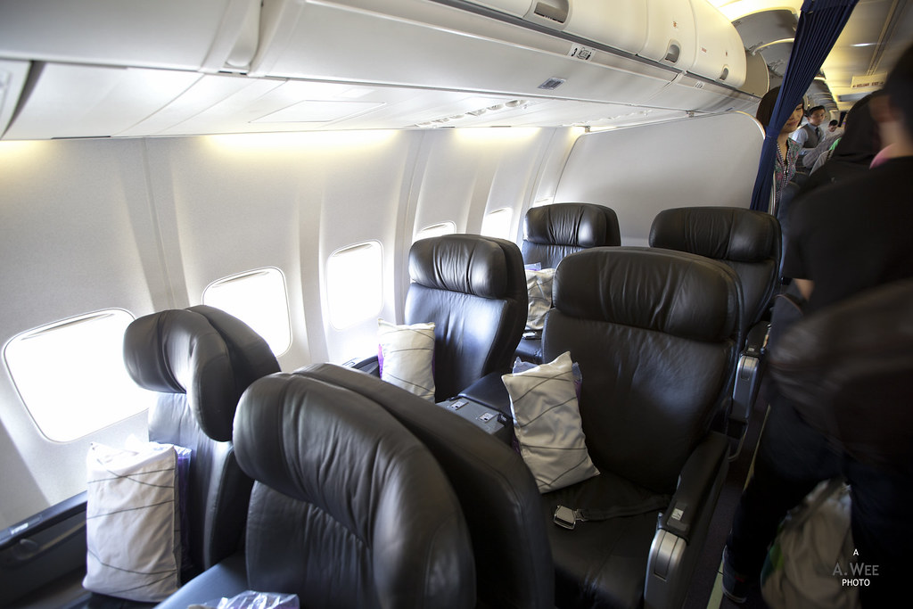 Older Business Class Cabin
