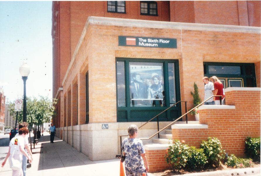 Sixth Floor Museum entrance