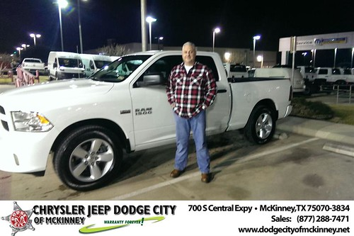 Dodge City McKinney Texas Customer Reviews and Testimonials-Skip Edward Roberts by Dodge City McKinney Texas