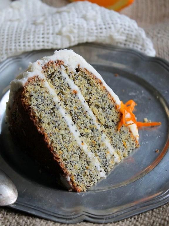 Birthday cake - Layer cake au pavot