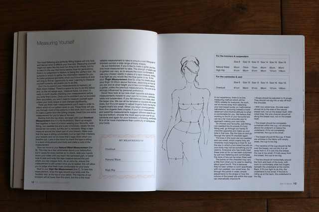 The Secrets of Sewing Lingerie Book