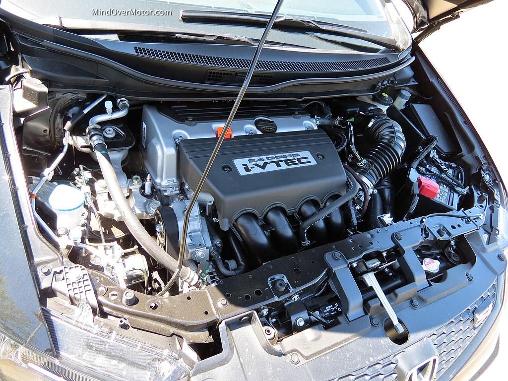 2013 Honda Civic Si Coupe 2.4L 4 cylinder VTEC engine