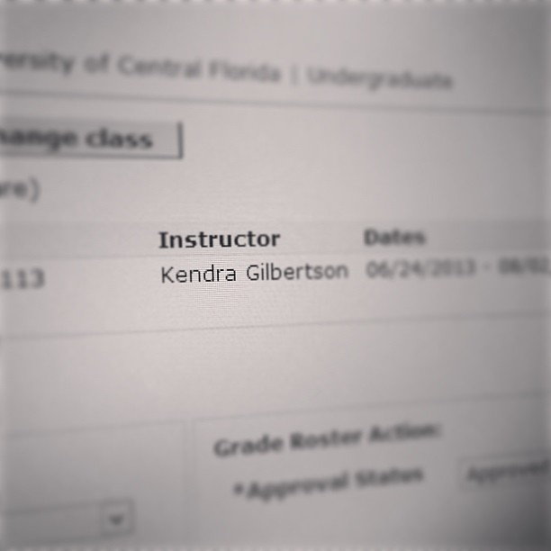 Grades entered. First semester as the instructor is in the books! It was a busy six weeks. ✏