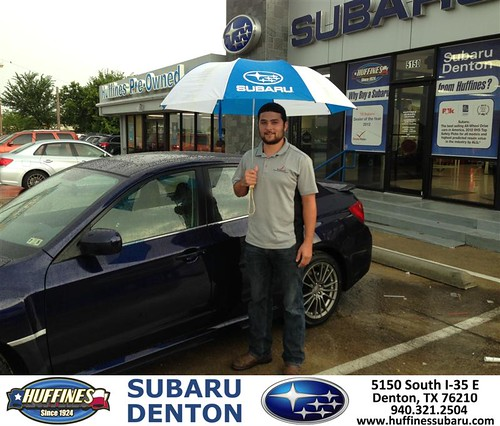 DeliveryMaxx would like to say Congratulations to Joey Sparlin of Huffines Subaru Denton on an excellent use of our program! by DeliveryMaxx