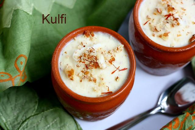 Kulfi- ice cream