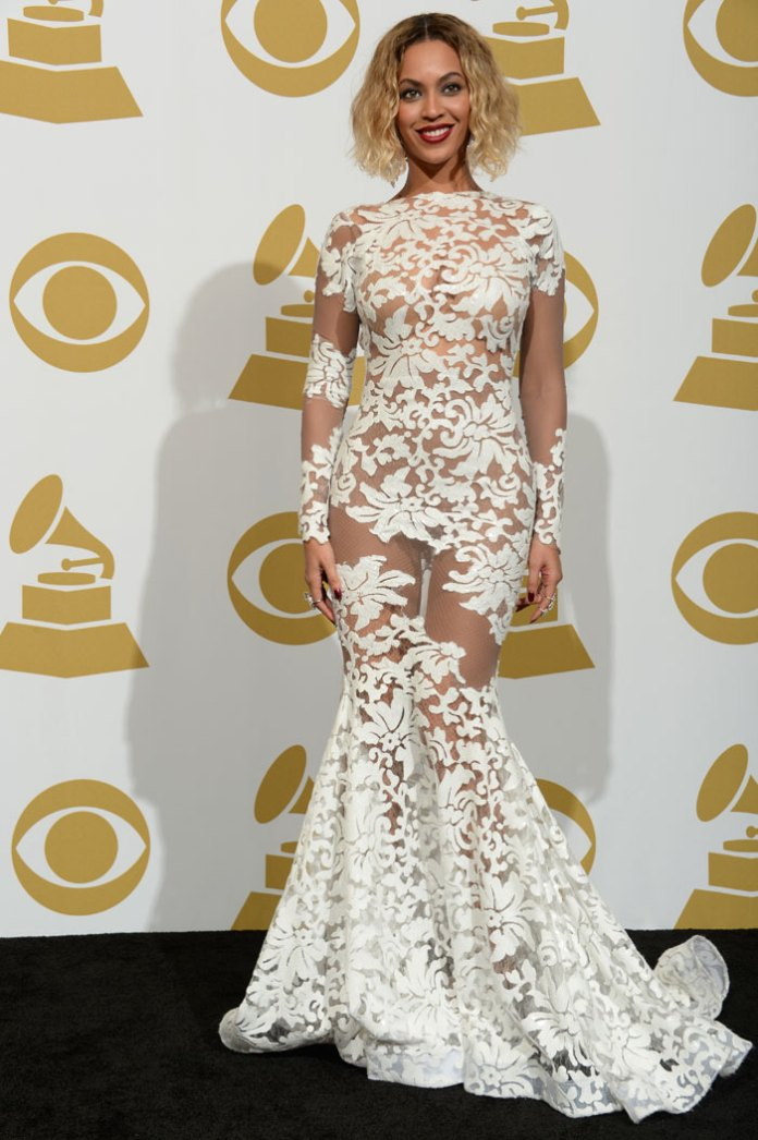 Beyonce's Grammys Dress from Michael Costello