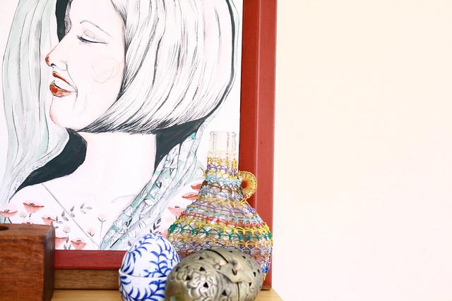 Marla | 2 / 52FACES Series framed