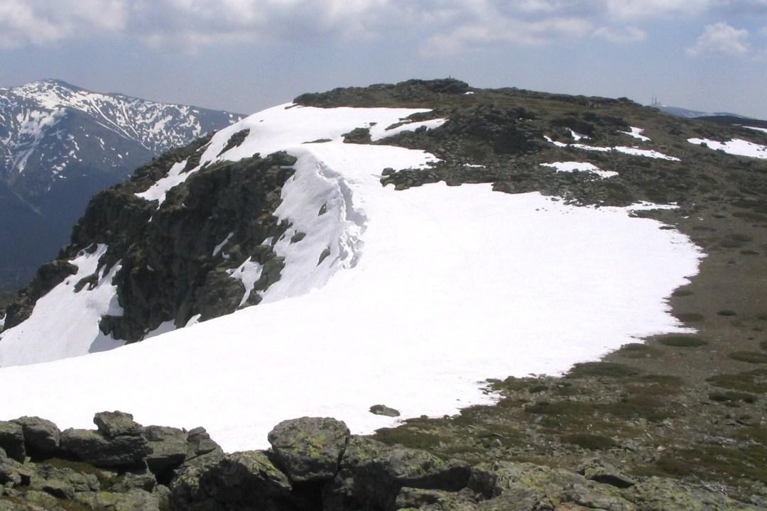 3. Nieve y montañas de la sierra de Guadarrama. Autor, Miguel303xm