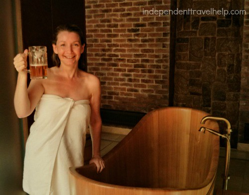 Beer spa in Plzen