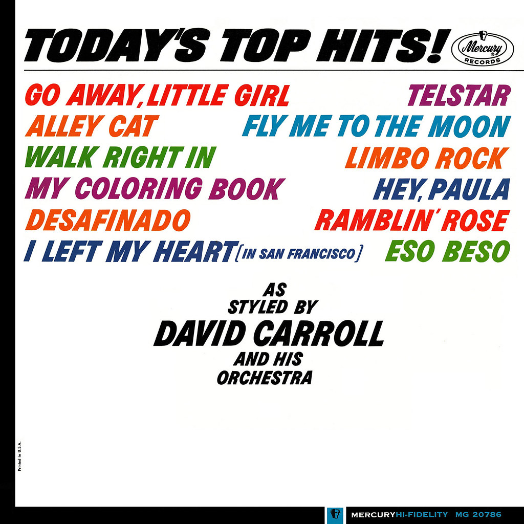 David Carroll - Today's Top Hits