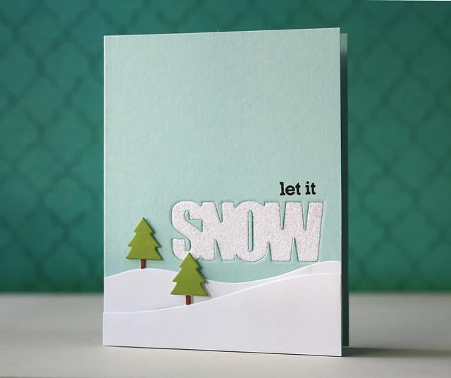 PTI~Wonderful Words: Snow die