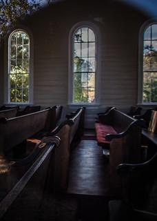 Spann Methodist Church Interior