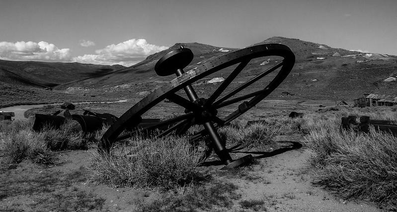 Wheel, Bodie, California