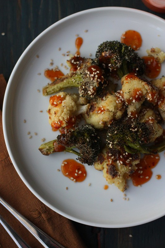 CRISPY ROASTED FLORETS WITH SPICY ASIAN DRESSING15