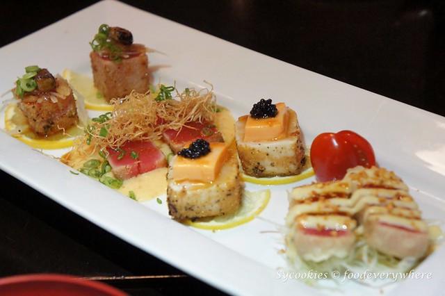13.aoyama -Fusion Tuna Plate (RM50)