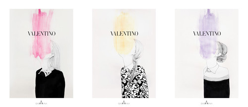 from VALENTINO '12-'13 F/W collection