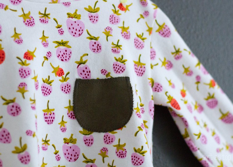 strawberry nessie top pocket