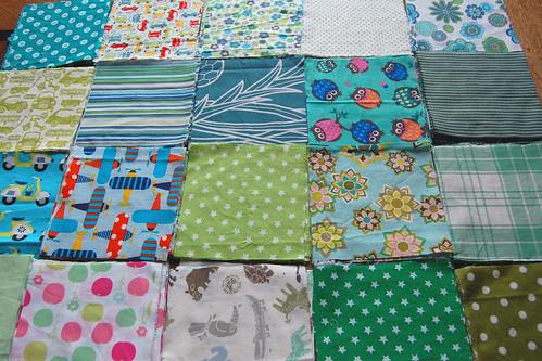 LB patchwork blanket WIP