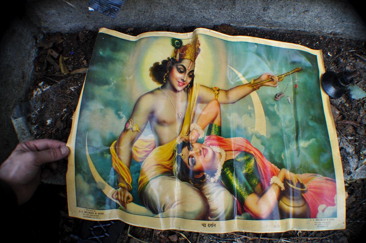 Poster Divinités Hindouistes