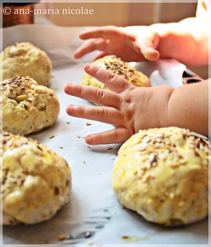 Olive & cheese bread