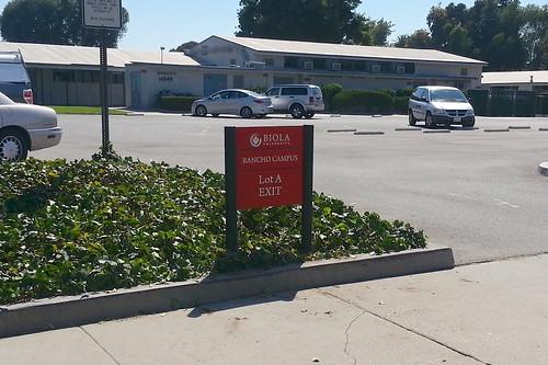 Biola Rancho Campus - Exit