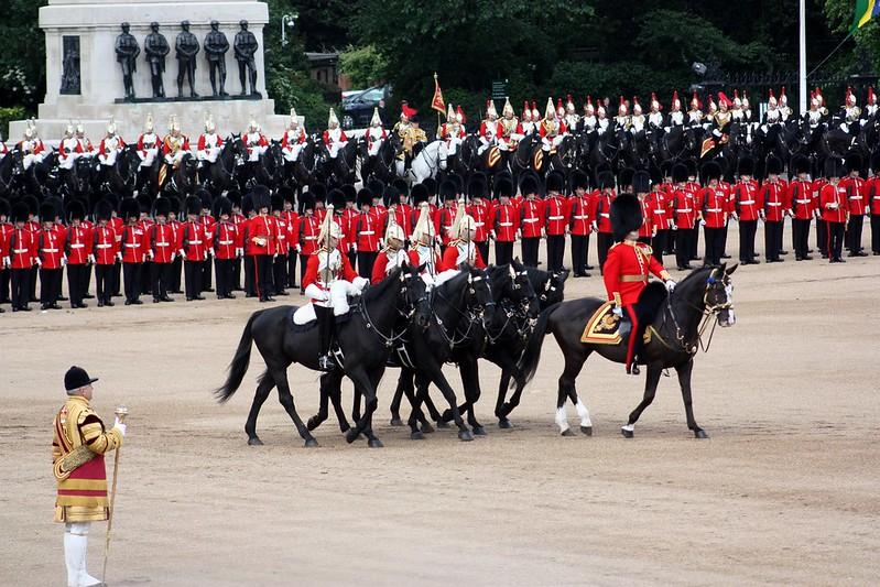 Trooping Horses