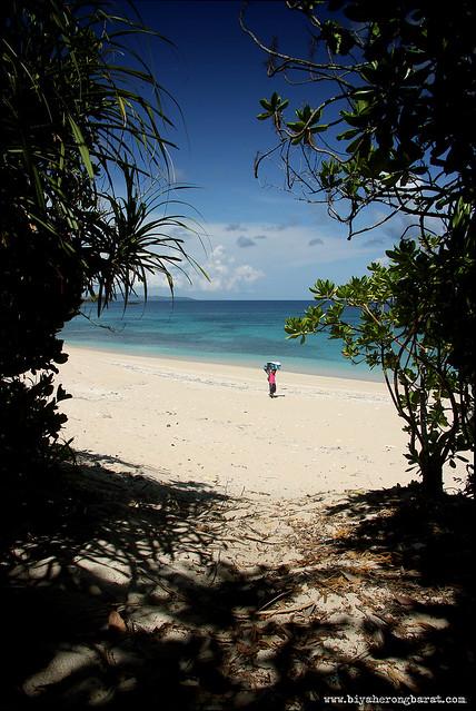 Beach Calaguas Island