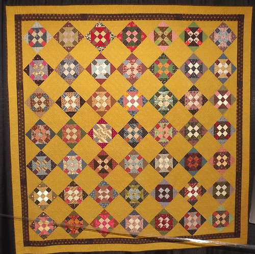 IQF Chicago 2013 - Intensity by Vicki Hodge, quilted by Anne Spiotta
