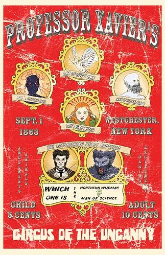 Professor Xavier's Circus by roborange