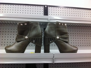 Goodwill: Green Knight Shoes