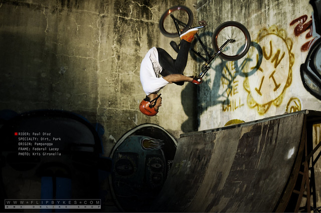 Flipbykes Team Rider - Paul Diaz (BMX Dirt/Park)