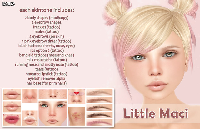 Skin Fair Little Maci