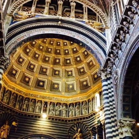 Porta del Cielo nel Duomo a Siena