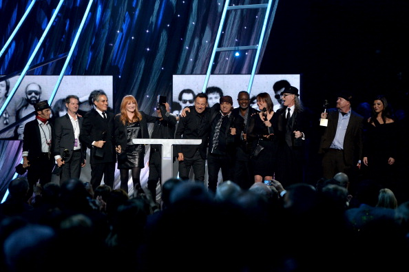 E Street Band en el Rock and Roll Hall of Fame