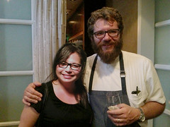 With Chef Michael Cimarusti