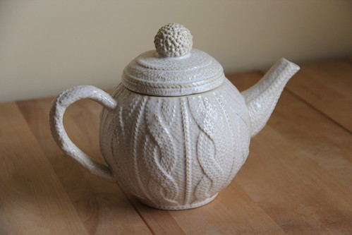 Teacessories Knitted Ceramic Teapots