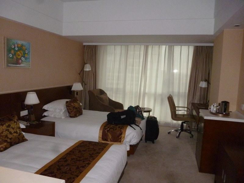 Hotel for the night due to flight cancellation