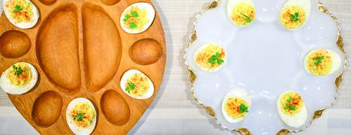 Canapé: Deviled Eggs