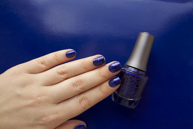 16 Morgan Taylor Regal As A Royal with topcoat