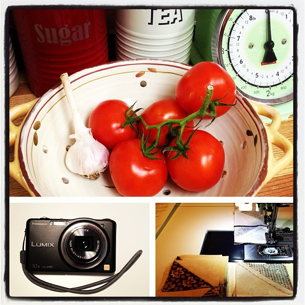 July 28 - favourite pastime {cooking, quilting, photography} #photoaday #cooking #photography #quilting #sewing #creating