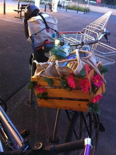 shopping-by-bike