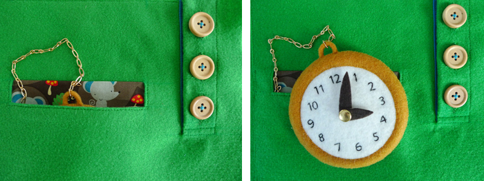Activity Book: Pocket Watch