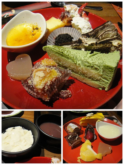 desserts at Dragon Legend
