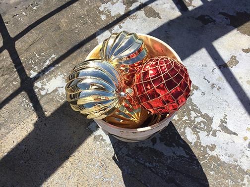 bucket of baubles