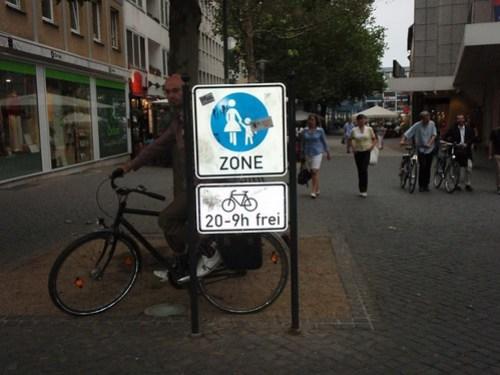 Braunschweig shared ped zones