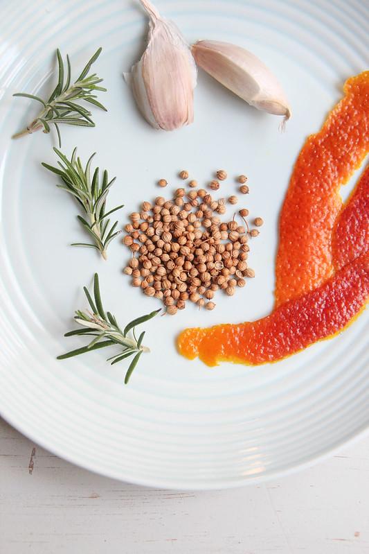 marinating ingredients