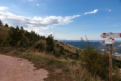 Landschaft mit San Leo