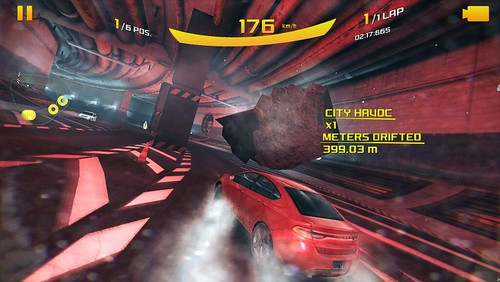 Asphalt 8: Airborne บน iPhone 5s